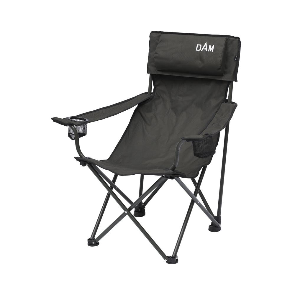 FOLDABLE CHAIR WITH PADDED BACK 8470-007