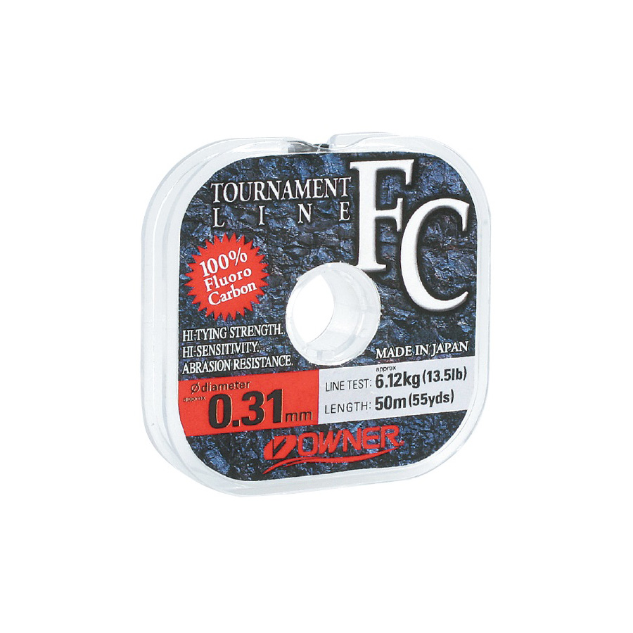FC TOURNAMENT LINE Fluorocarbon (Color: Clear)