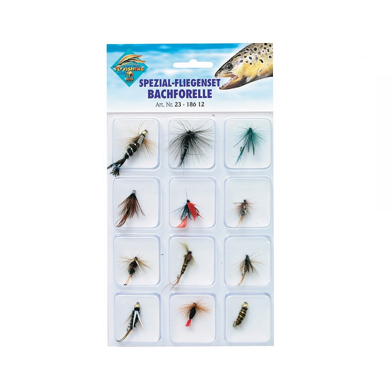 SET FLIES 23-186 12 (12 pcs)