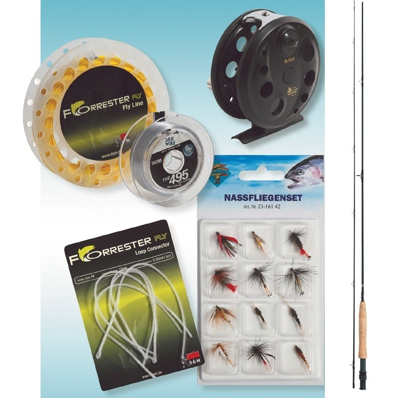 ROD - REEL FULL FLY FISHING SET