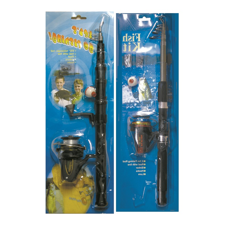 FISHING ROD WITH REEL COMBO